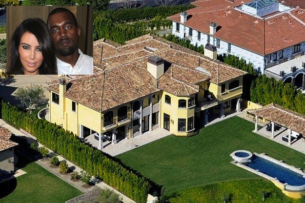 Kim Kardashian and Kanye West's House
