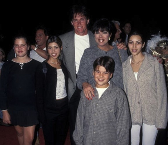 Bruce Jenner With the Kardashians