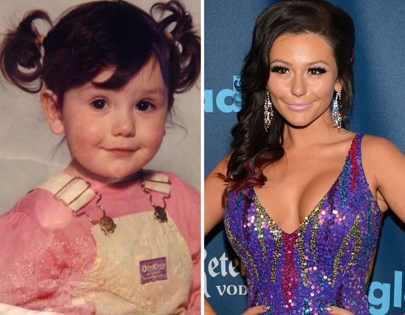 JWoww as a Kid