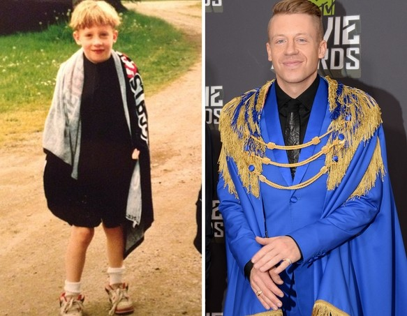 Macklemore as a Kid
