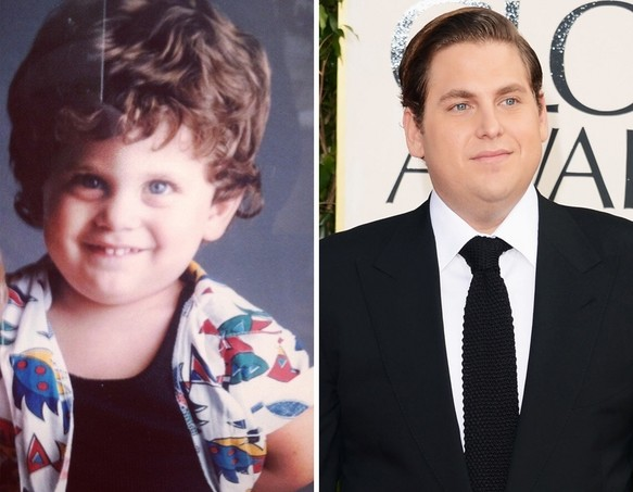 Jonah Hill as a Kid