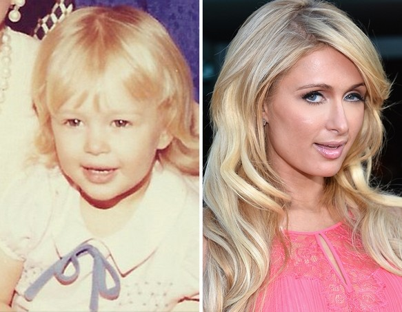 Paris Hilton as a Kid
