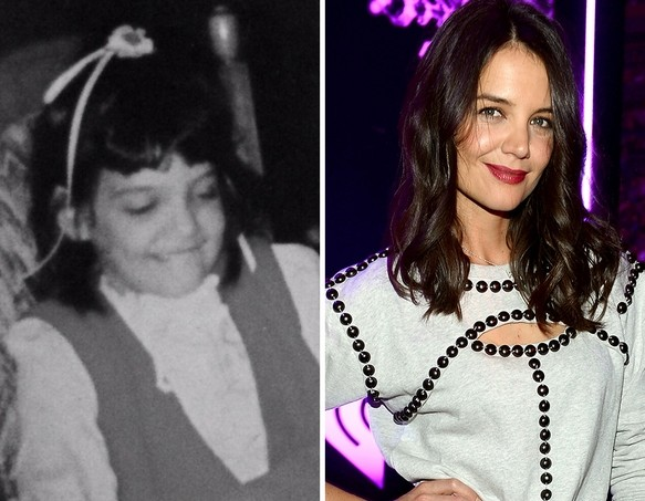 Katie Holmes as a Kid
