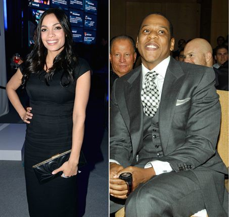 Jay Z and Rosario Dawson