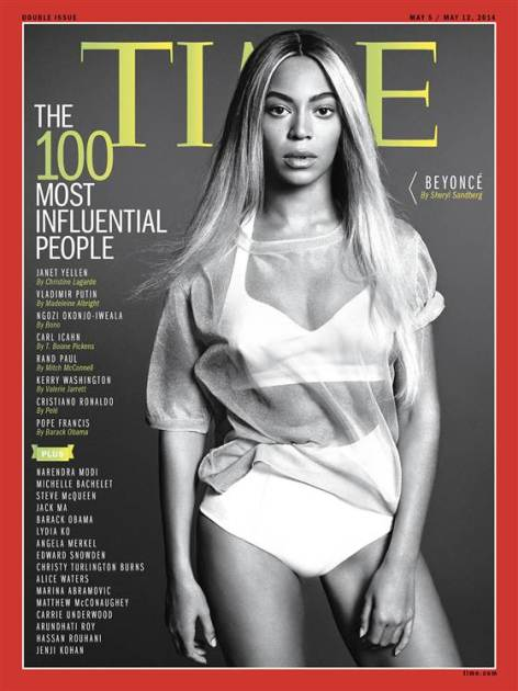 Beyonce Time Cover