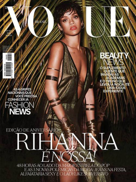 Rihanna for Vogue Brazil