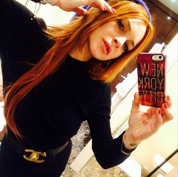 Lindsay Lohan Partying Photo