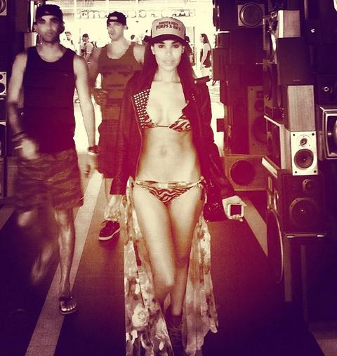 V. Stiviano Bikini Pic