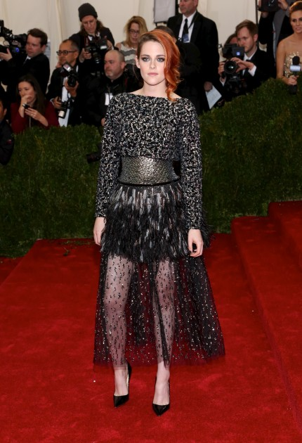 Kristen Stewart at the MET Gala