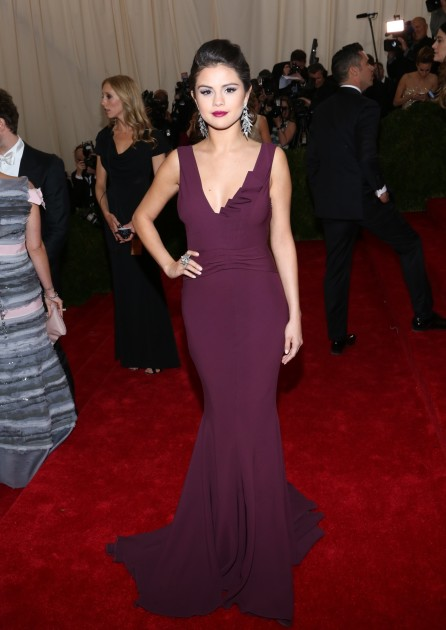 Selena Gomez at the MET Gala