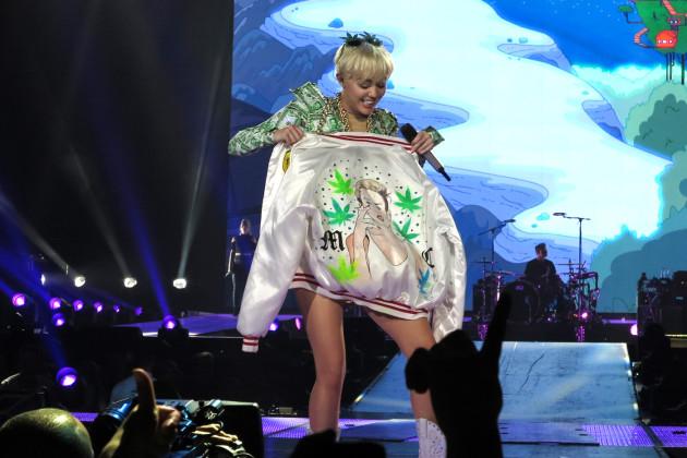 Miley Cyrus Marijuana Jacket