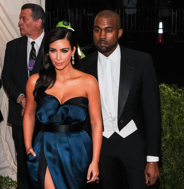 Kimye Red Carpet Photograph