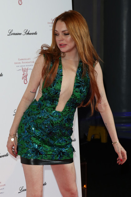 Lindsay Lohan Drunk Lean Photo