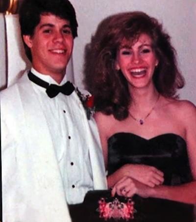 Julia Roberts Prom Photo