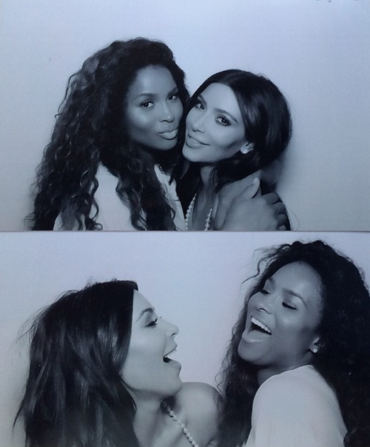 Kim Kardashian Photo Booth Fun