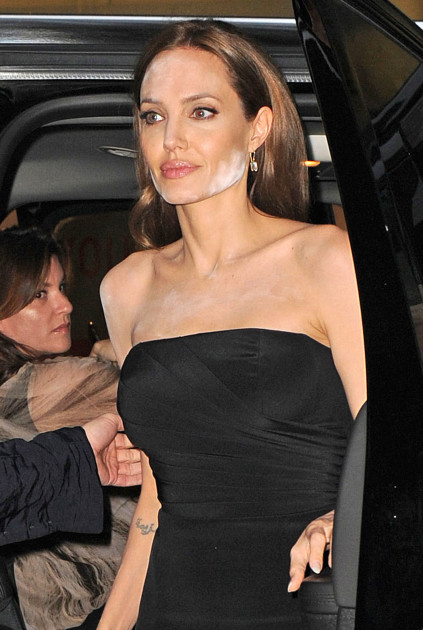Angelina Jolie Movie Premiere Fail