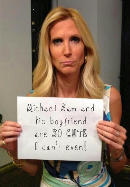 Ann Coulter: Michael Sam! So Cute!