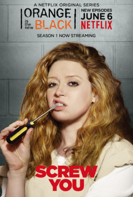 Orange is the New Black Poster: Nicky