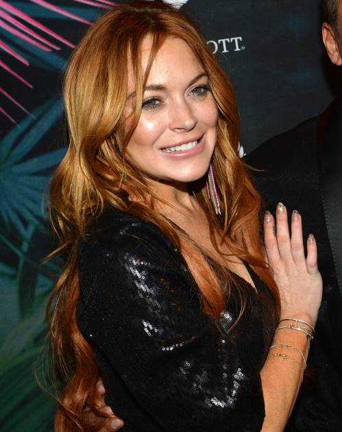 Lindsay Lohan Cannes Party!