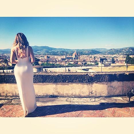 Khloe Kardashian in Florence