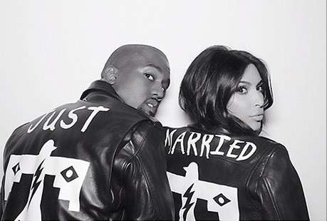 Kim Kardashian And Kanye West Just Married