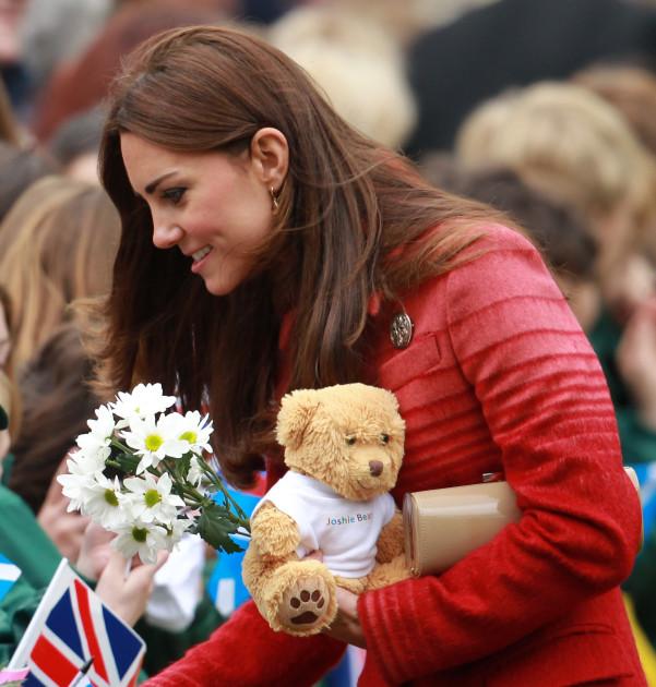 Gracious Kate Middleton