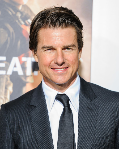 Tom Cruise at Edge of Tomorrow Premiere