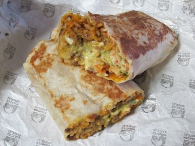 XXL Grilled Stuft Burrito from Taco Bell