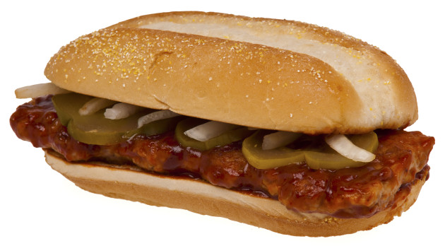 McRib from McDonalds