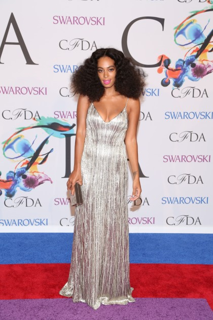 Solange on the Red Carpet