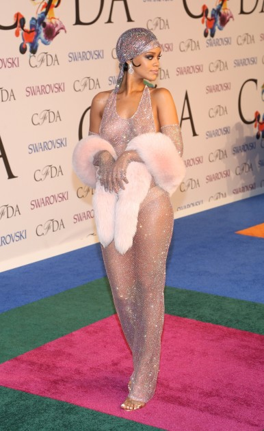 Rihanna 2014 CFDA Awards