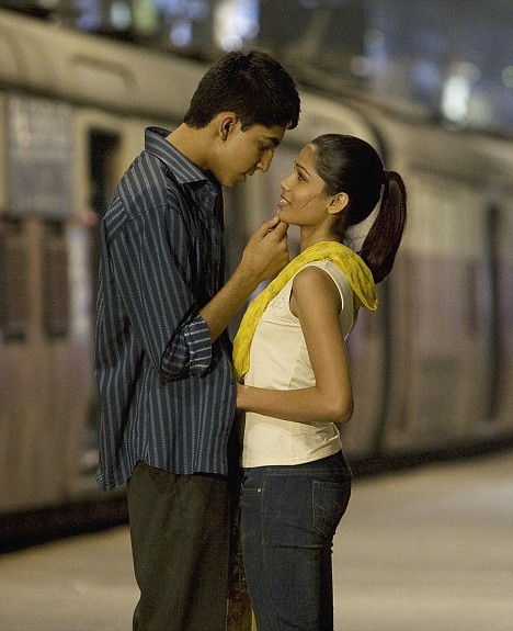 Dev Patel and Freida Pinto