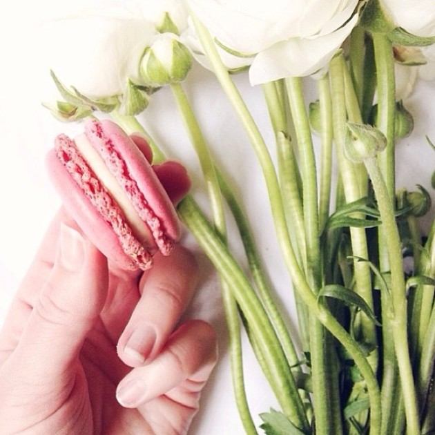 Manicures and Macarons