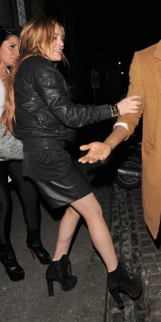 Lindsay Lohan: Loaded in London