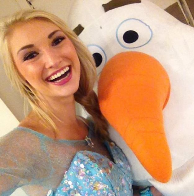 Elsa and Olaf!