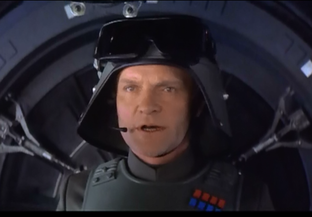 Julian Glover in the Empire Strikes Back