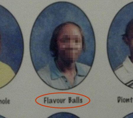 Flavour Balls