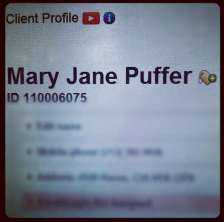 Mary Jane Puffer