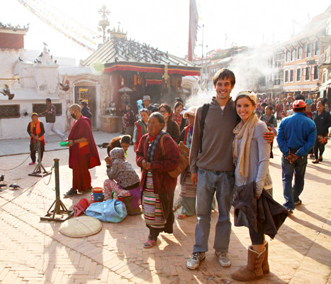They Meet at Last! In Nepal!