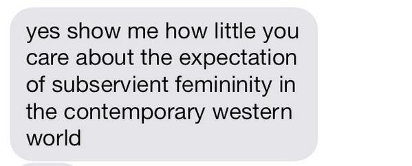 Convenient Femininity