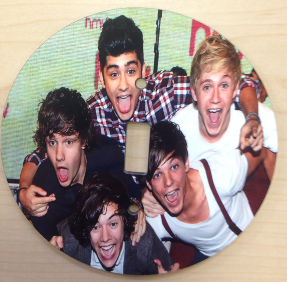 One Direction Light Switch Cover