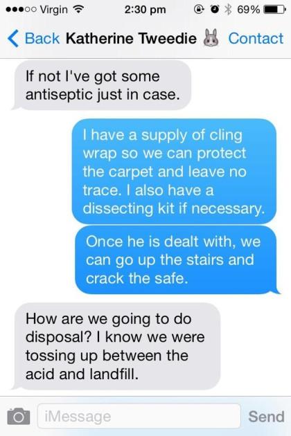 Debating body desposal...
