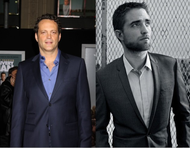 Vince Vaughn and Robert Pattinson