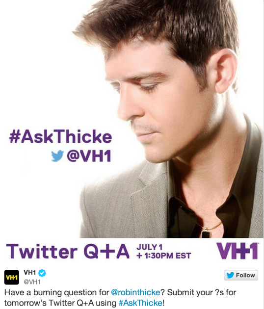 #AskThicke...