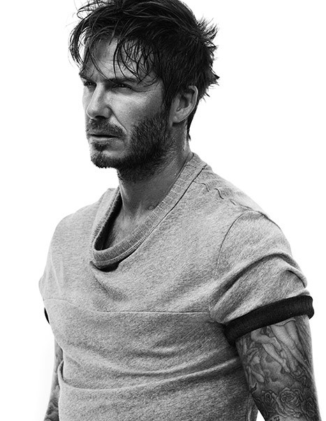 David Beckham in a Shirt?!?