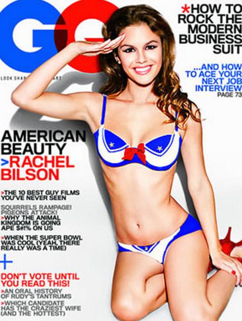 Rachel Bilson Loves America!