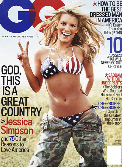 Jessica Simpson Loves America!