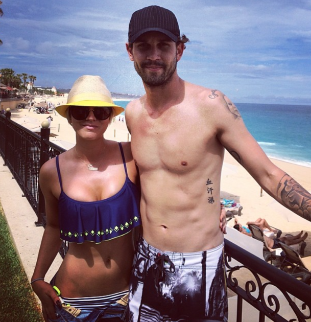 Kaley and Ryan on Vacation