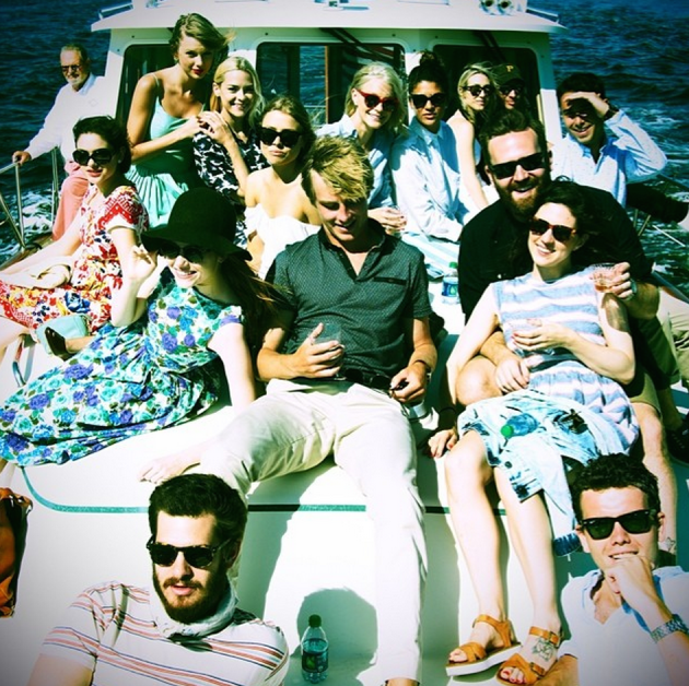 Partying on a Boat