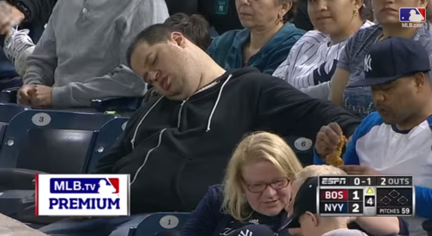 Sleeping Fan Sues for $10 Million